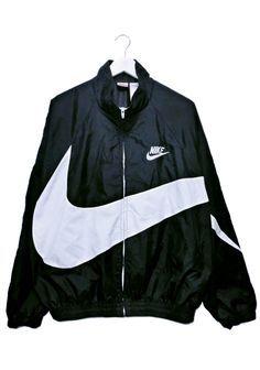 Nike Big Swoosh Jacket Street Wear Streetwear Outfit Clothes