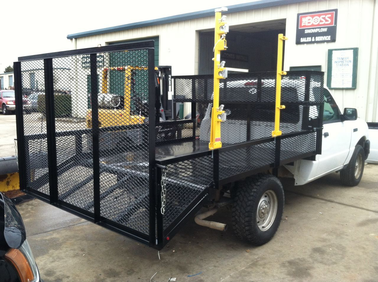 Overall look. Custom truck beds, Landscape trailers