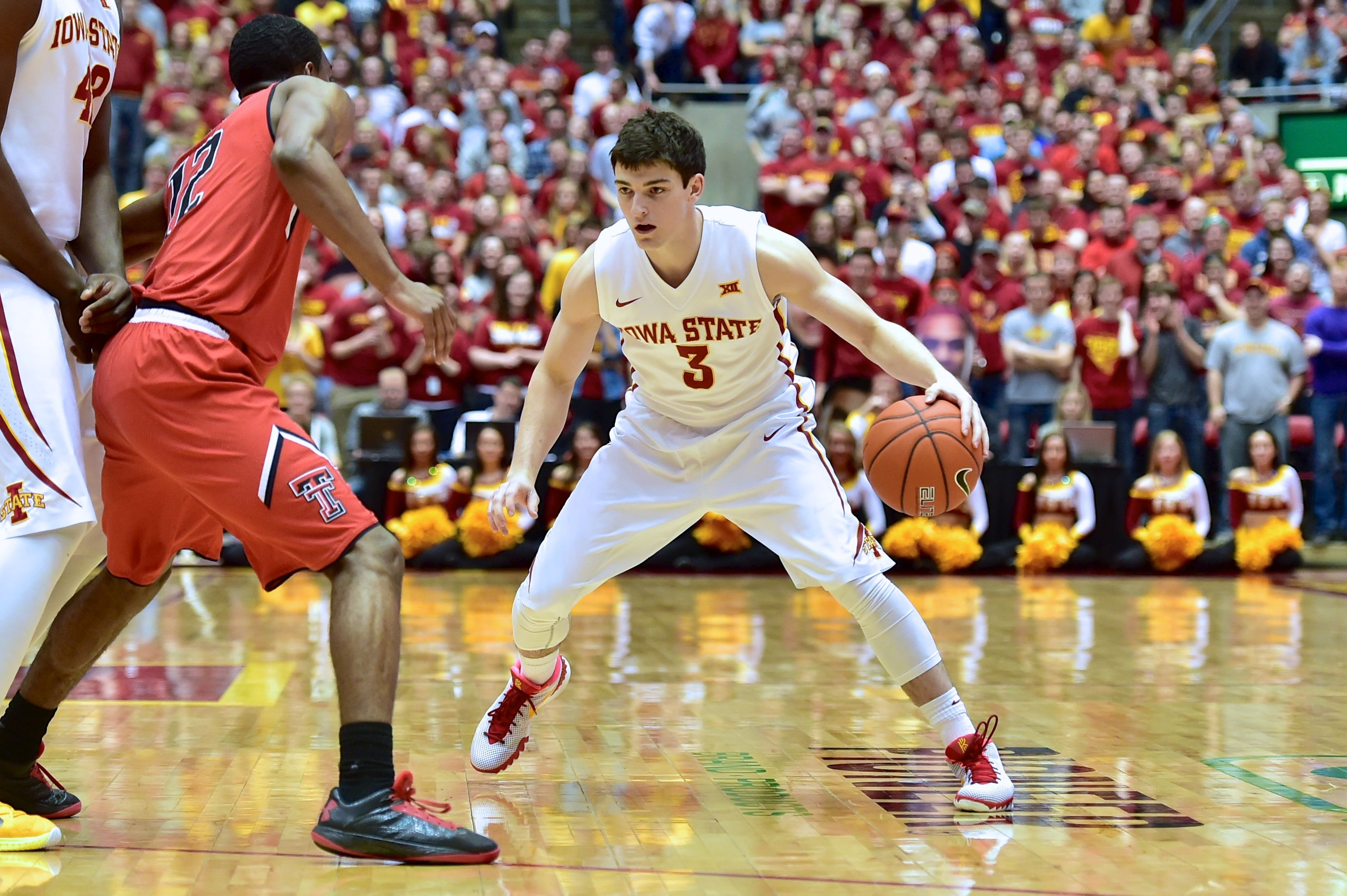 Iowa State. vs. Texas Tech. Feb. 7, 2015. Clayton Cluster