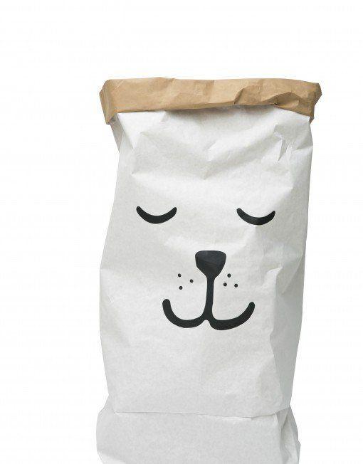 Paper Storage Bag - Sleepy Bear