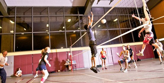 Recreational Volleyball Keep Fit Have Fun And Make Friends Keep Fit Physical Activities Making Friends