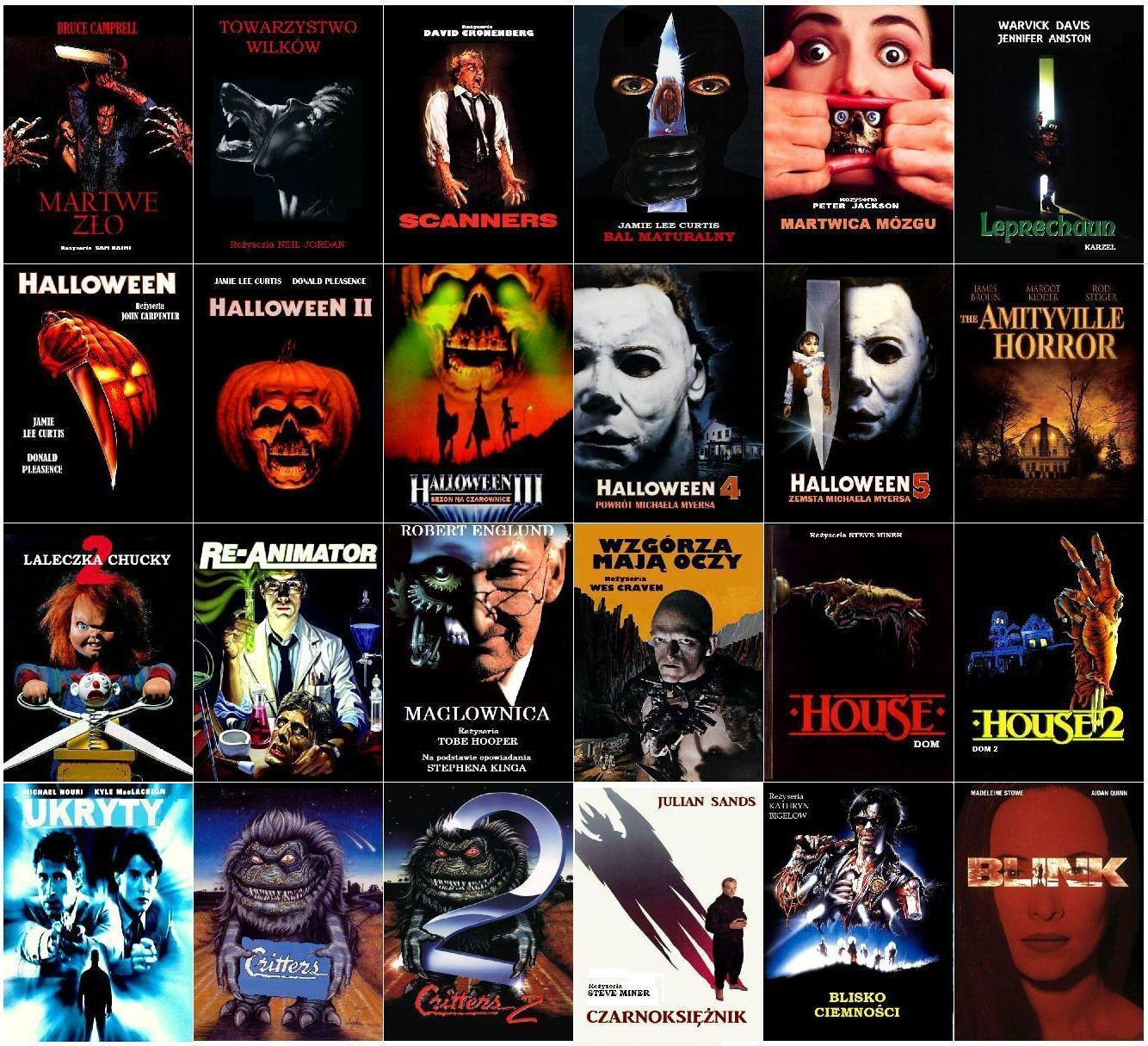 Top 10 Horror Movies of All Time Movie Pinterest