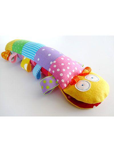 Sewing - Doll & Toy Patterns - Stuffed Animal Patterns - Caterpillar ...