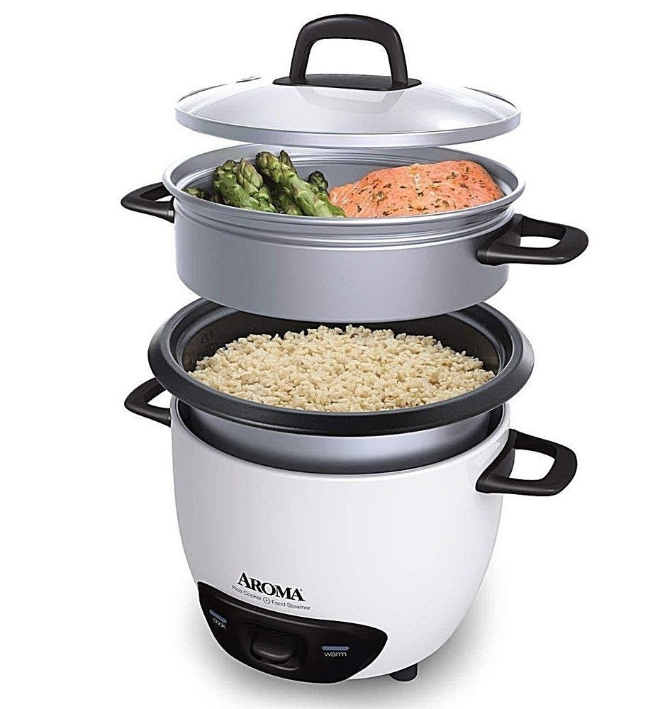 Details about 6-Cup (Cooked) (3-Cup UNCOOKED) Pot Style ...