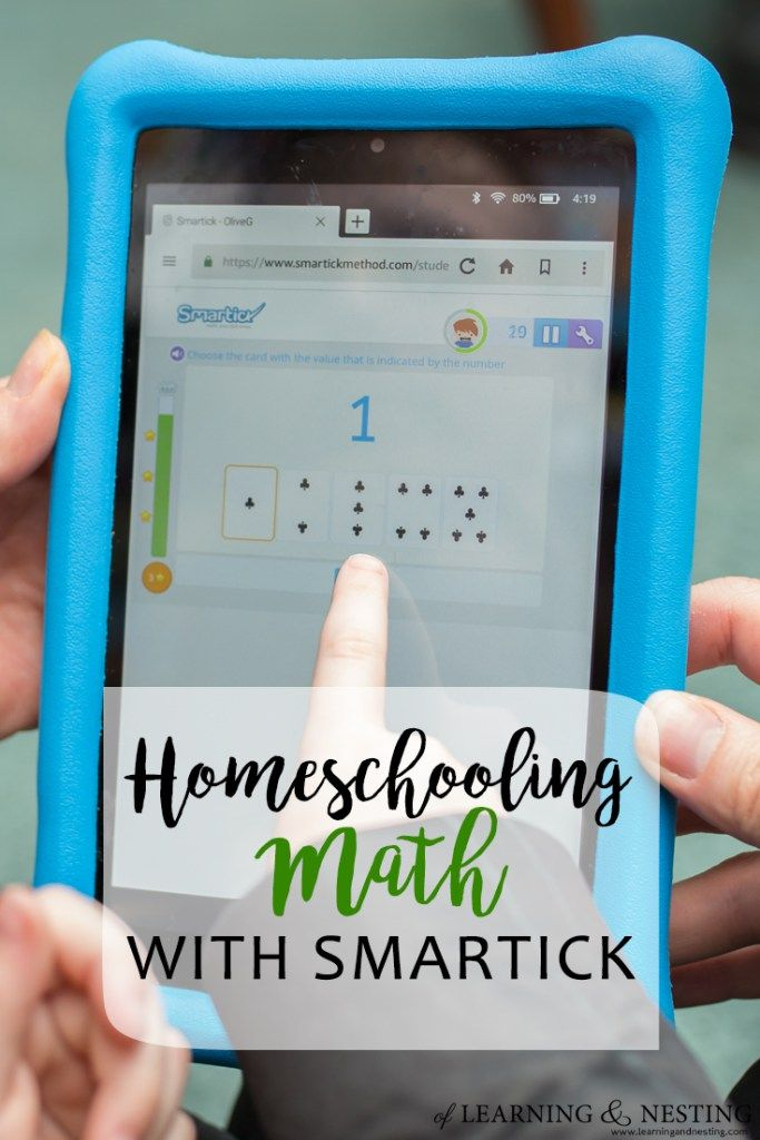 Homeschool Math with Smartick - Using an app to help kids with their ...