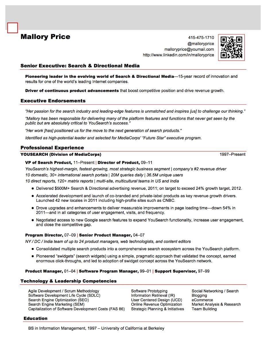 21st century resume writing