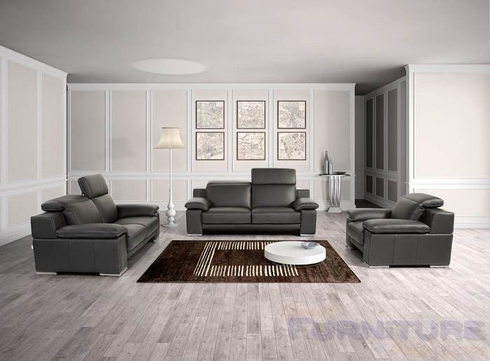 Best Vig Furniture Estro Evergreen Modern Black Italian 400 x 300