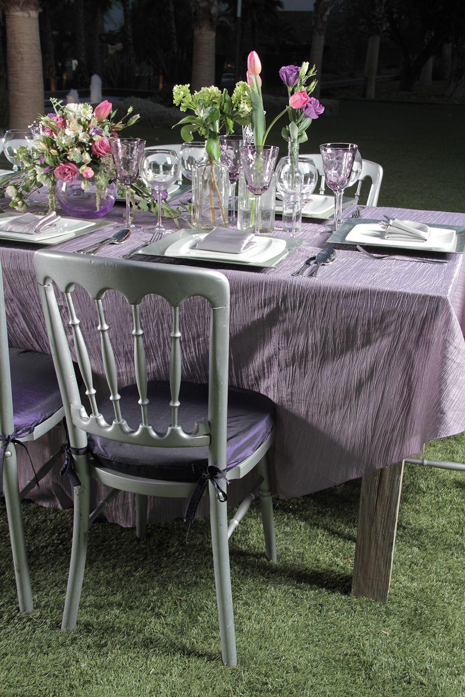 Silla versalles color plata sillas para eventos for Sillas para eventos