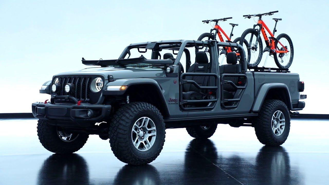 2020 Jeep Gladiator Modified By Mopar Beauty Shots Youtube Jeep Gladiator Jeep Gladiator