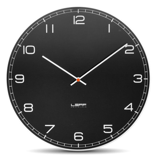One25 Embossed Stainless Steel Wall Clock Please Follow 2 Design Modern Furniture Objects For New Pins Wall Clock Black Wall Clock Retro Wall Clock