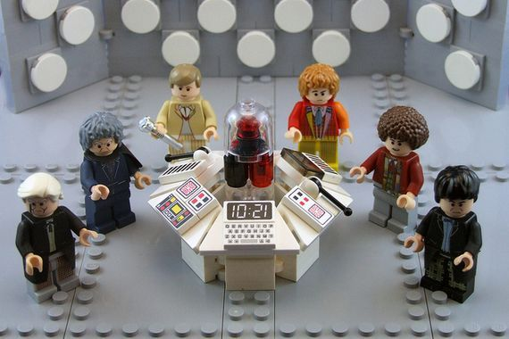 1st 6th Doctor Who Custom Minifigures Doctor Whovian