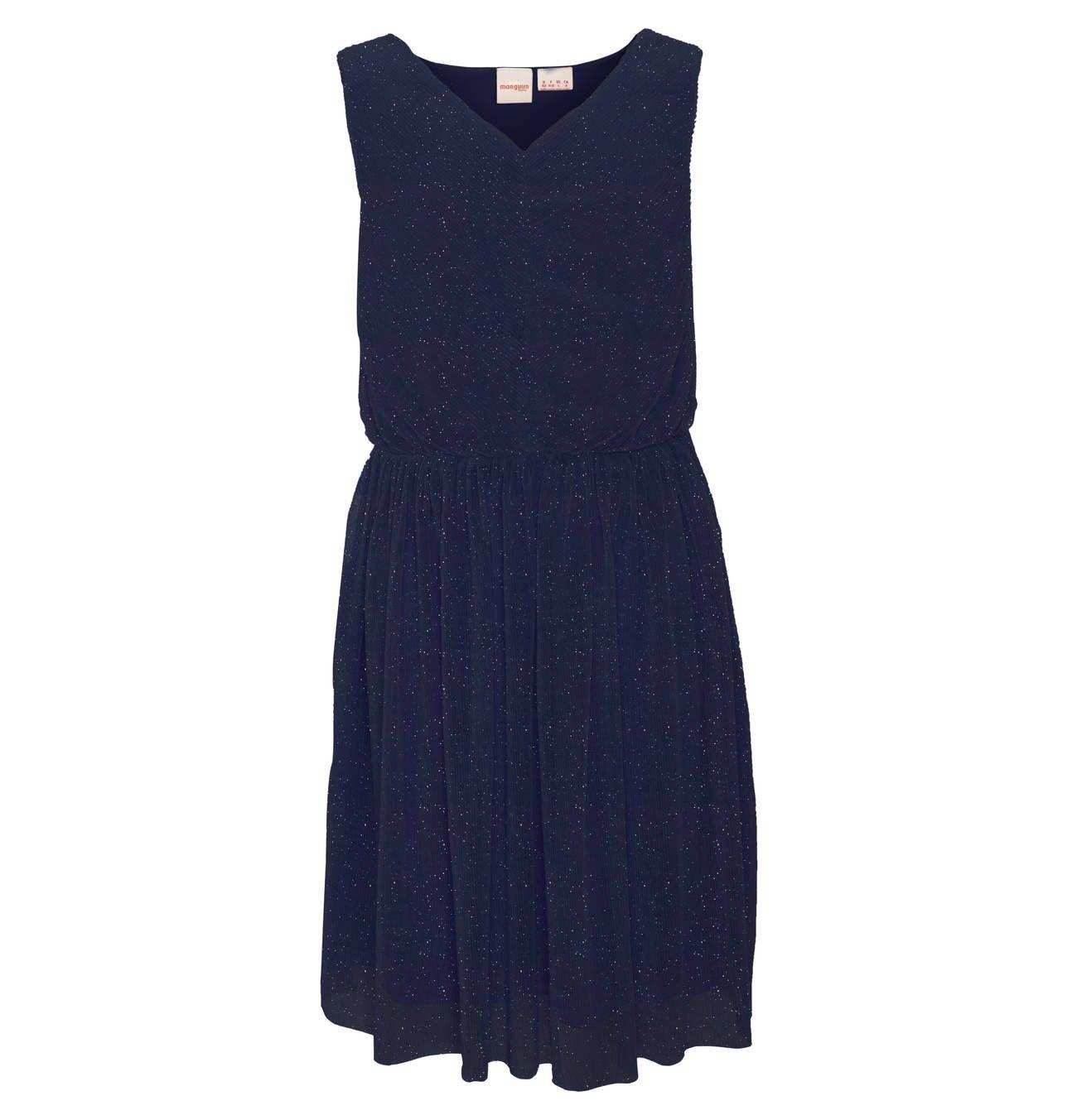 manguun teens Festtagskleid, Plissee, leicht ausgestellter Rock, uni, Glitzer, für Mädchen | Galeria Kaufhof #ausgestellterrock