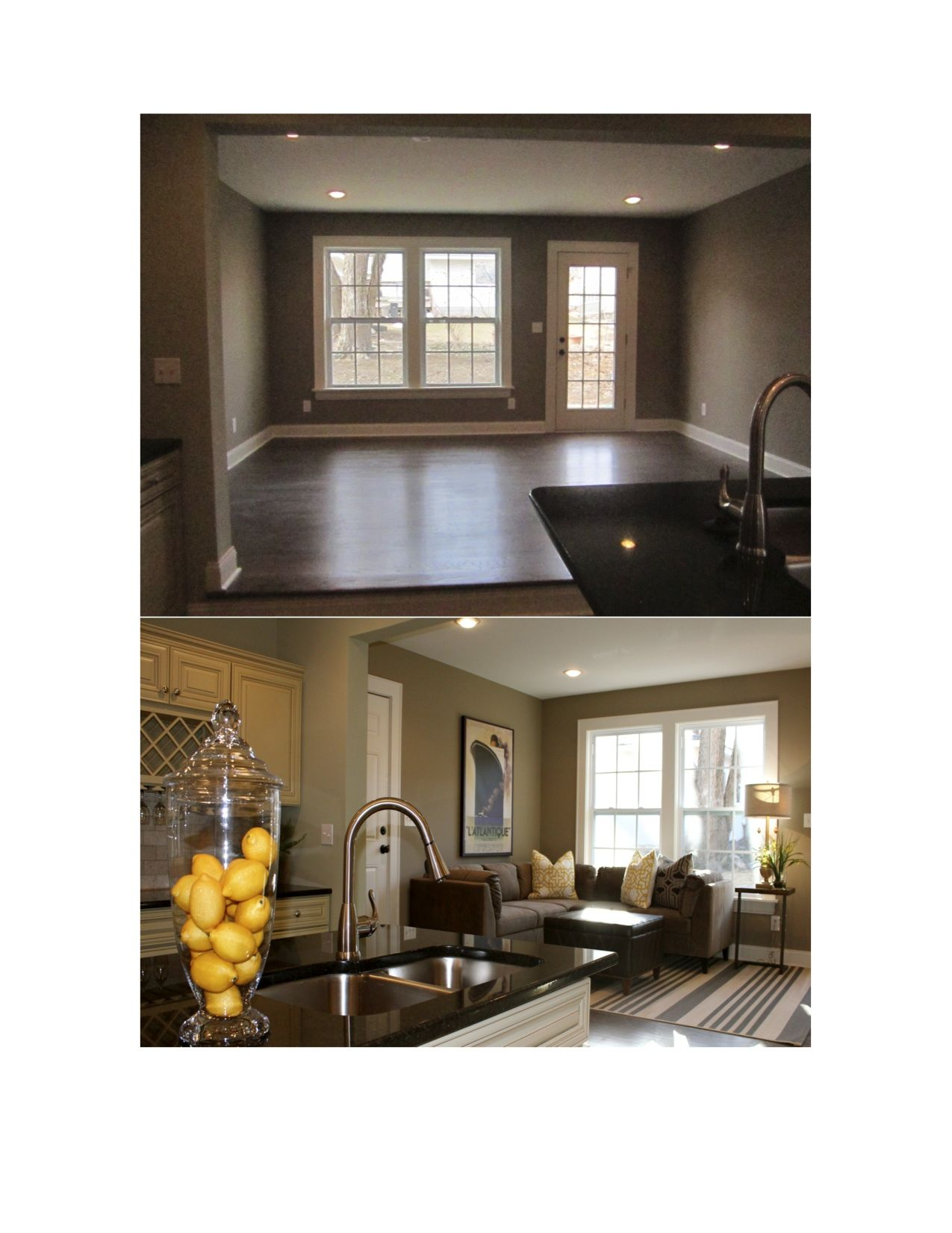 Vacant Home Staging....when life hands you lemons....use them to ...