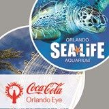 Combination Experience:  Coca-Cola Orlando Eye + SEA LIFE Orlando Aquarium