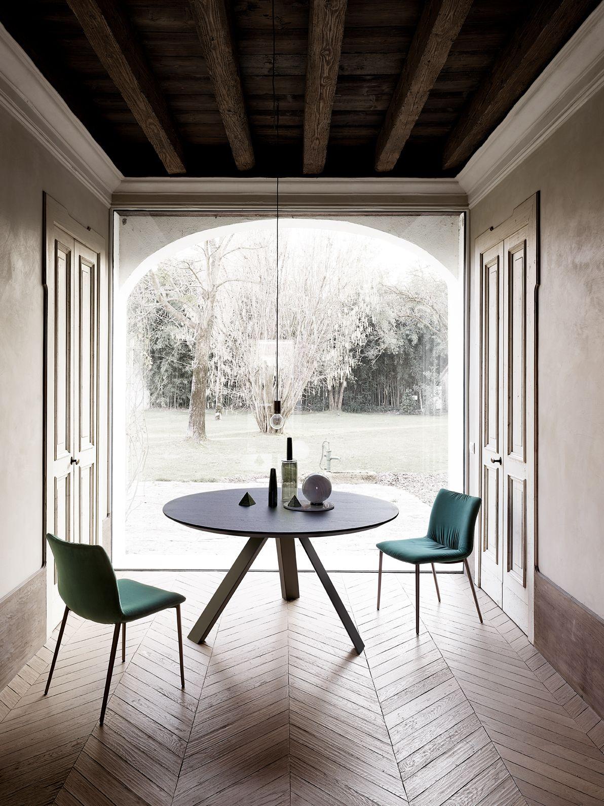 Tavolo da Pranzo tondo di Design Moderno nel 2020   Tavolo ...