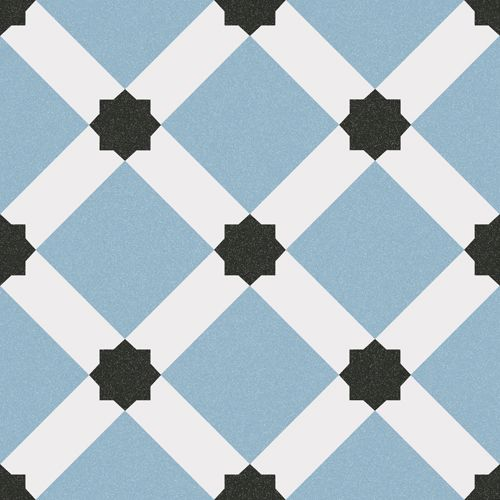 1900 Palau Celeste 20x20cm Pavimento Gres Vives Azulejos
