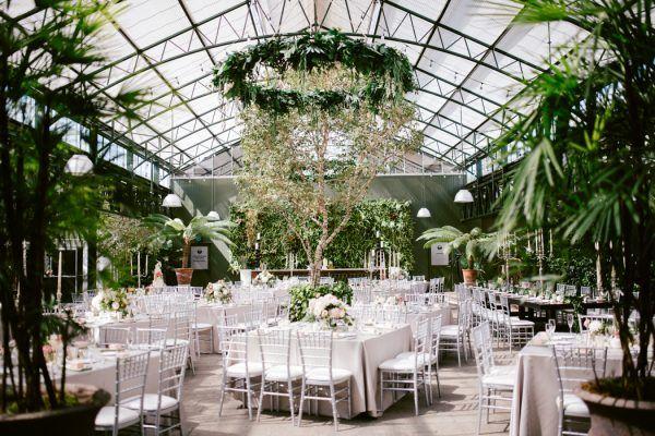 Overwhelmingly Lush Michigan Wedding At The Planterra Conservatory