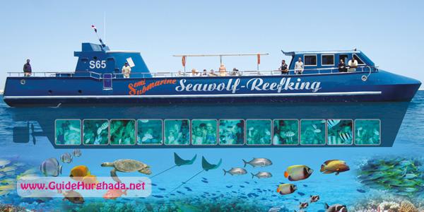 رحلة الغواصه سى وولف الغردقة عمق 4 متر مع اسنوركلينج رحلة ممتعه جدا لمدة 3 ساعات احجز الأن مع شركة جايد ترافيل الغردقة 01023399 Hurghada Excursions Fun
