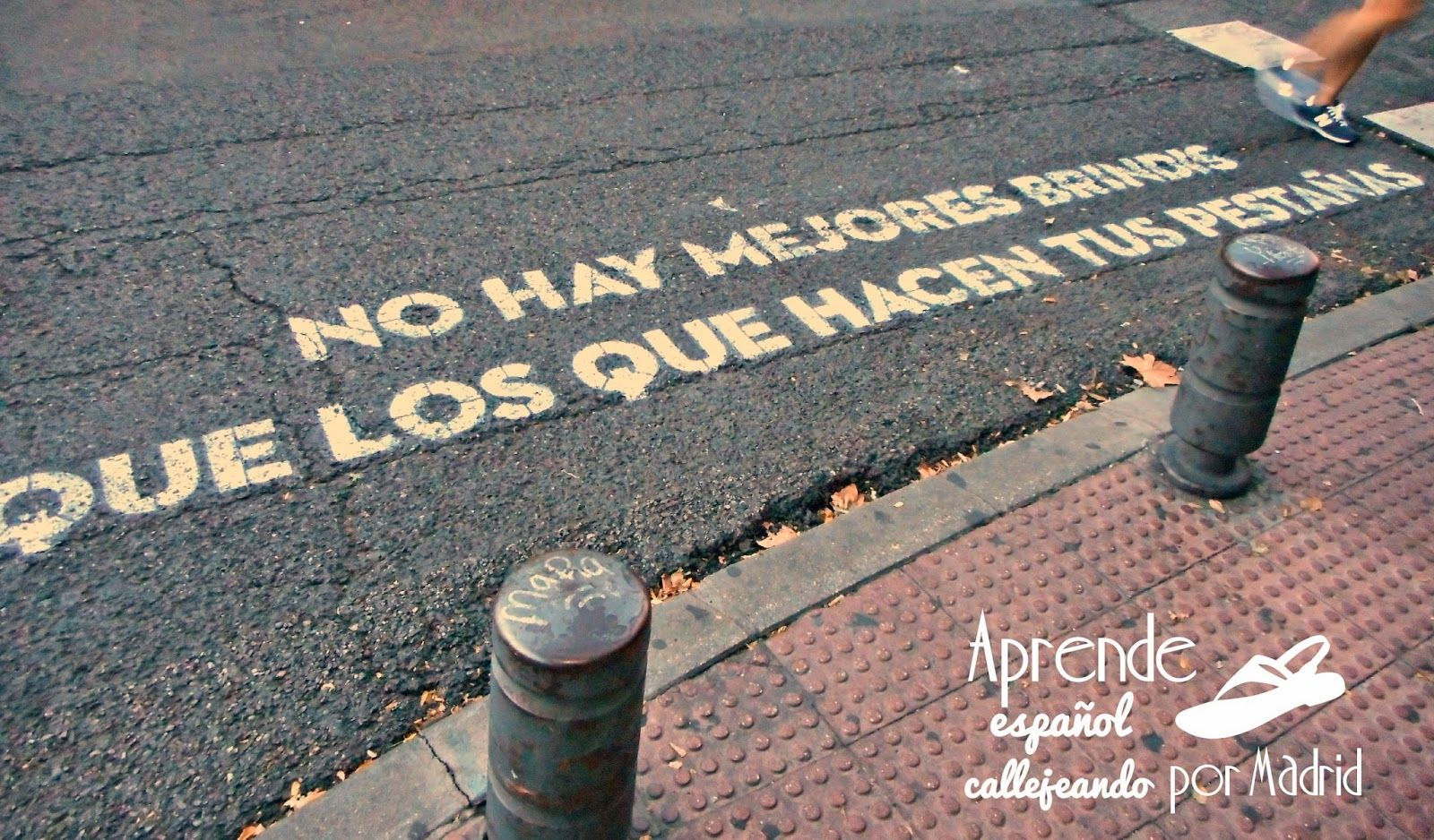 Aprende español callejeando por Madrid: Buenos tiempos para la lírica.  #ELE #español #Spanish #vocabulario #poesía