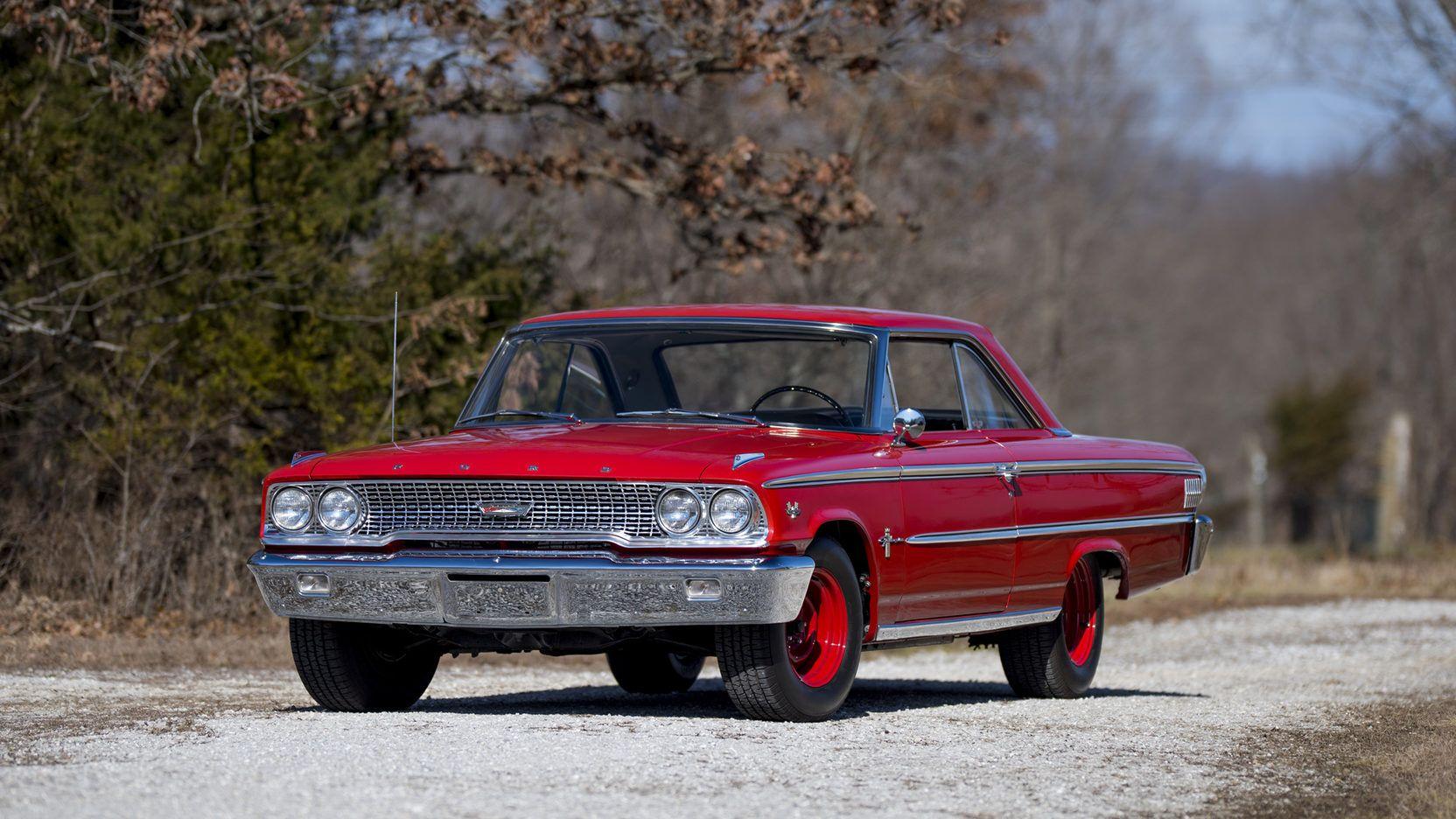 Lot S106: 1963 Ford Galaxie 500 #WhereTheCarsAre #Mecum #KC
