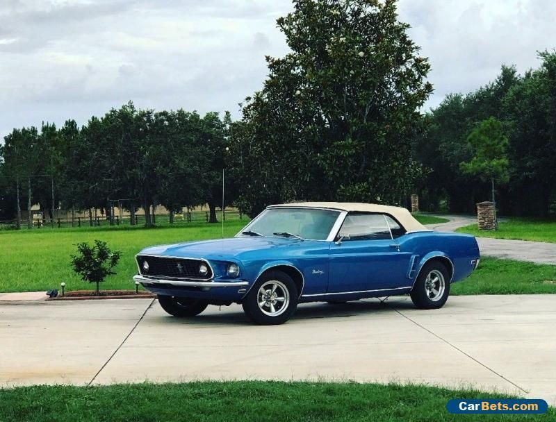1969 Ford Mustang Ford Mustang Forsale Unitedstates Mustang Ford Mustang 1969 Mustang Convertible