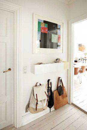 Der kleine Eingangsbereich \u2013 10 kluge Einrichtungsideen Hall and House