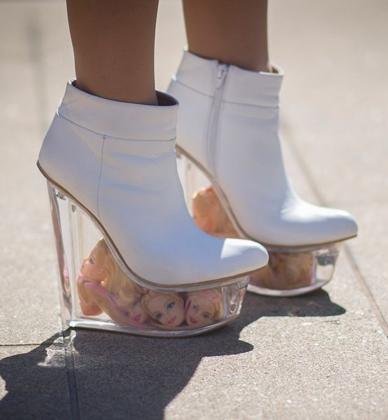 9 Craziest Shoes Spotted During Fashion Week WTF