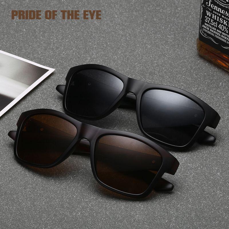 e47a931f7c9 2018 Brand Design Sunglasses Men Polarized Square Retro Spectacles Driving  Vintage Fashion Women Sun Glasses Eyewear UV400 8607