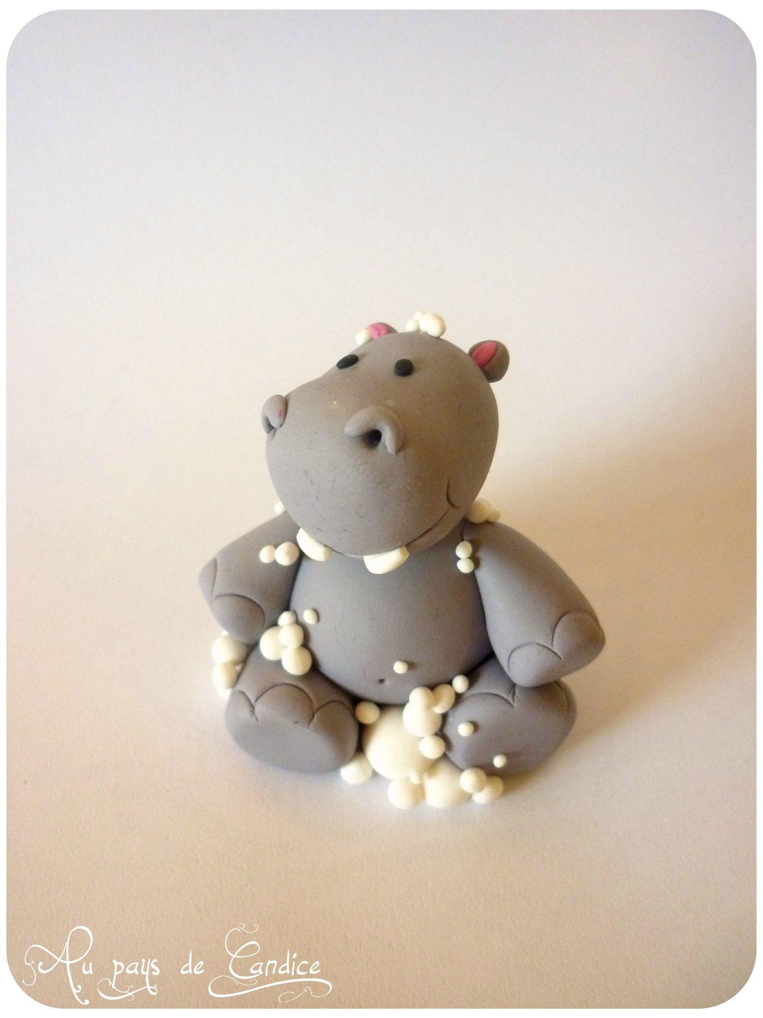 paname le petit hippopotame au pays de candice hippopotame fimo et p tes. Black Bedroom Furniture Sets. Home Design Ideas