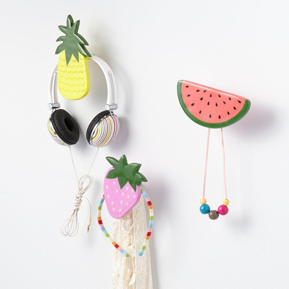 Fresh Fruit Wall Hook (Watermelon)