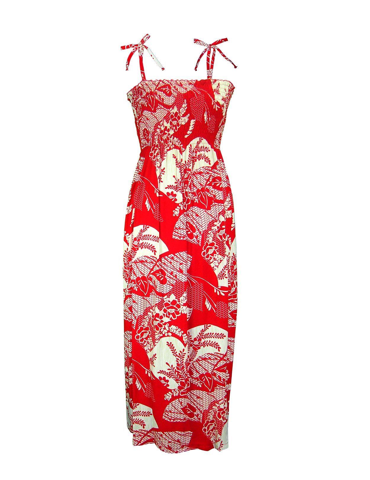 d8baa8c46dfd3 Beautiful Long Rayon Maxi Dresses Tube-Top Riviera  hawaiiandresses ...