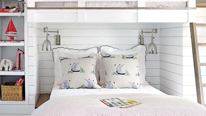 15 Shiplap Rooms We Love Bunk Beds Small Room Kids Bunk Beds