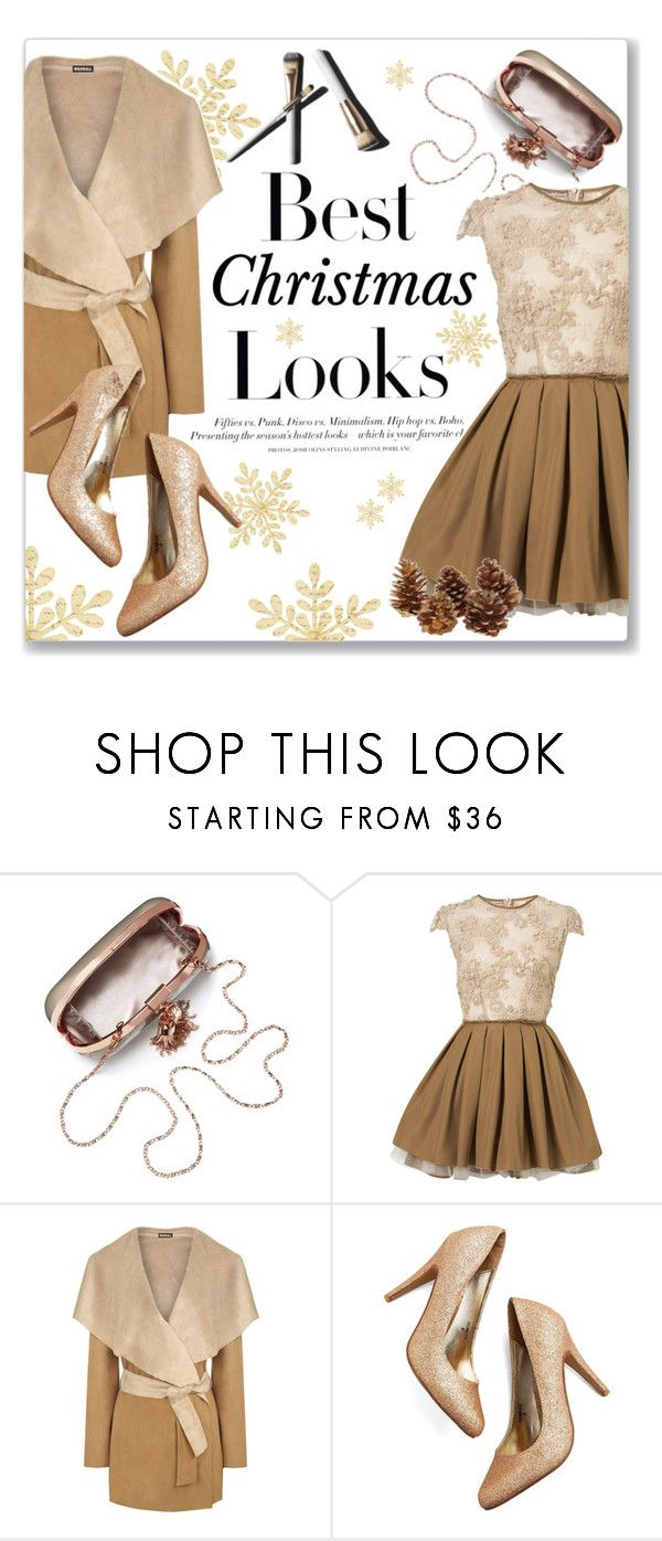 """Best Christmas Look"" by nikolinanina ❤ liked on Polyvore featuring H&M, Topshop, WearAll and Garance Doré"