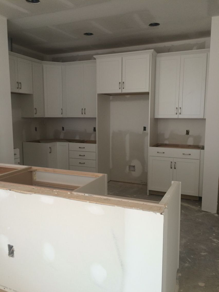 White Kitchen Shaker Style Cabinets Timberlake Sonoma Painted