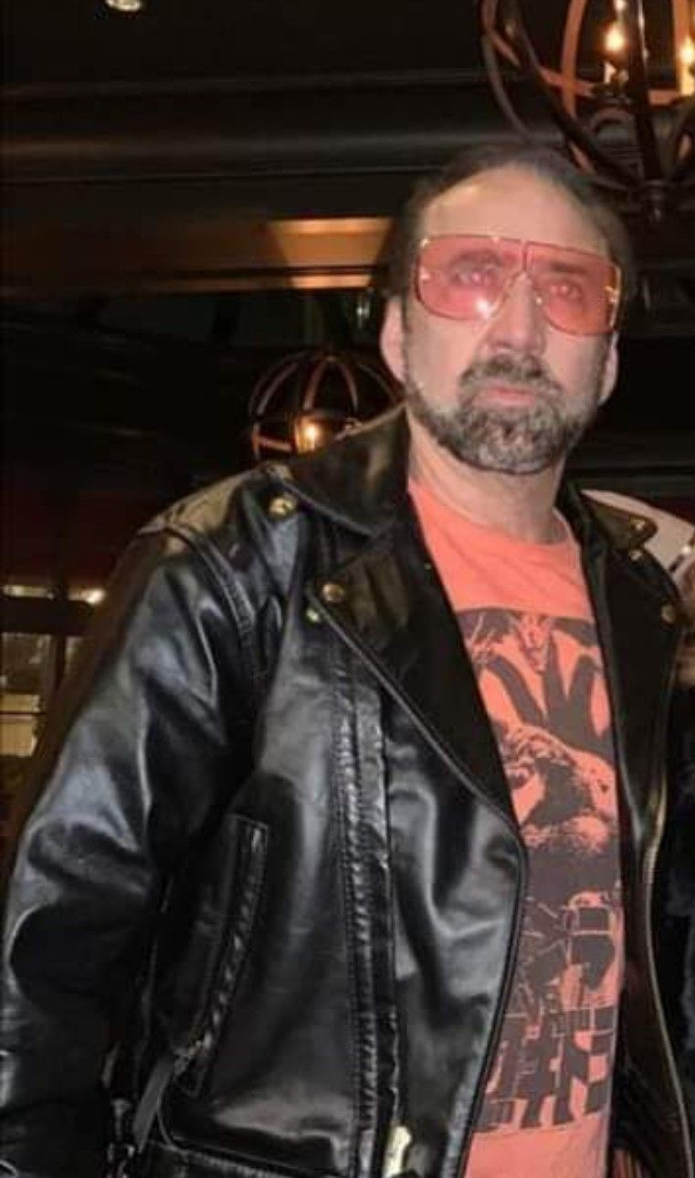 Pin By Lisa Burgos On Nicolas Cage Leather Jacket Nicolas Cage Fictional Characters [ 1290 x 761 Pixel ]