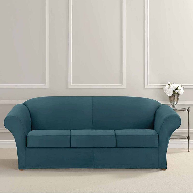 Sure Fit Ultimate Heavyweight Stretch Suede 3 Cushion