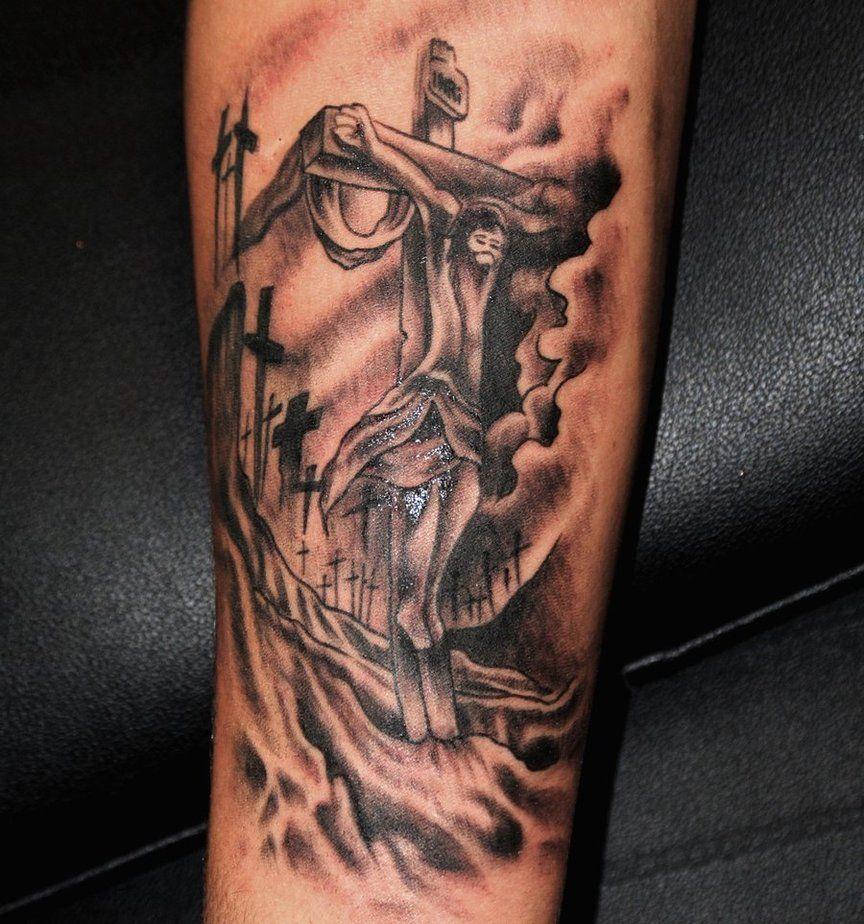 Tattoos For Men Crosses Jesus Christ Cross Tattoos Like ...