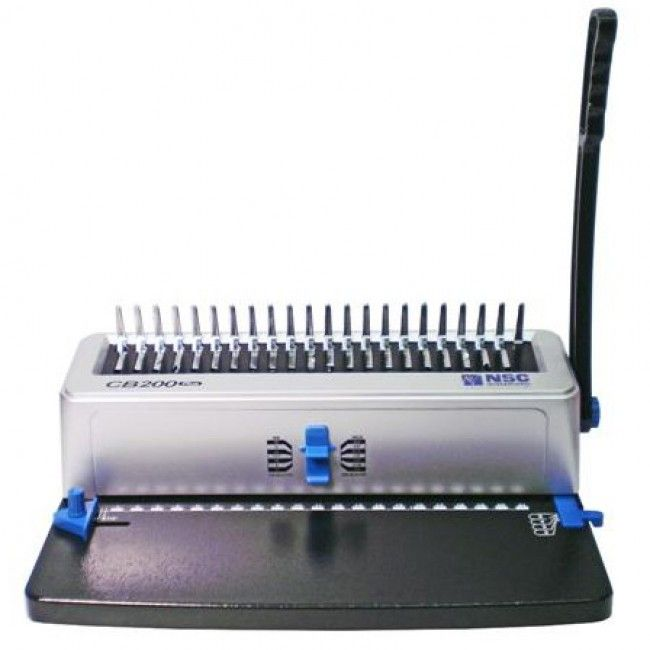 Binding 101 Cb200 Plus Manual Plastic Comb Punch Binding Machine Binding Machines Binding Comb