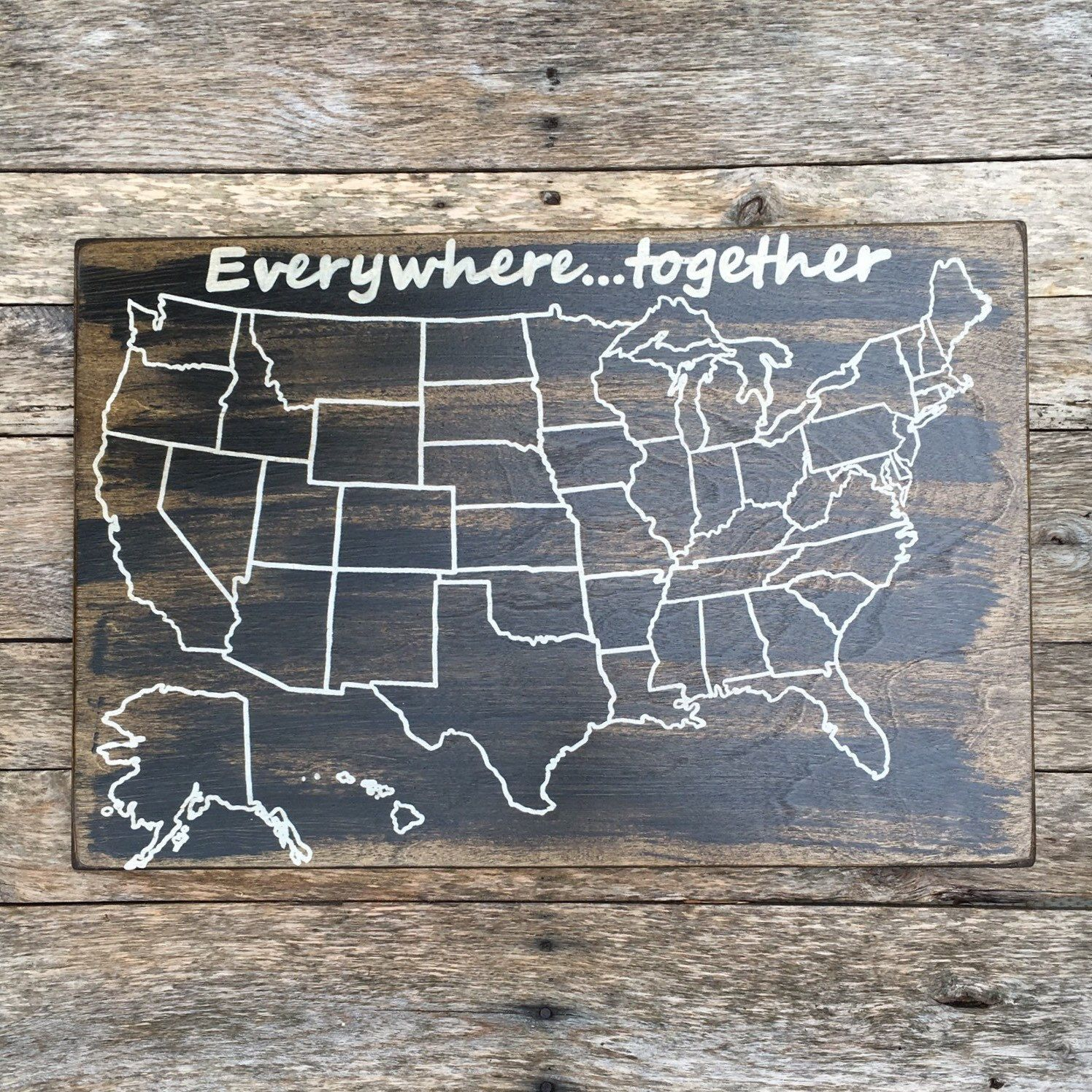 Travel Map US Wood Map USA Travel Map Personalized Pin Map - Personalized us travel map