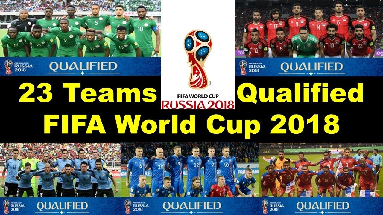 Fifa World Cup Final Qualified Teams World Cup Final World Cup Fifa World Cup