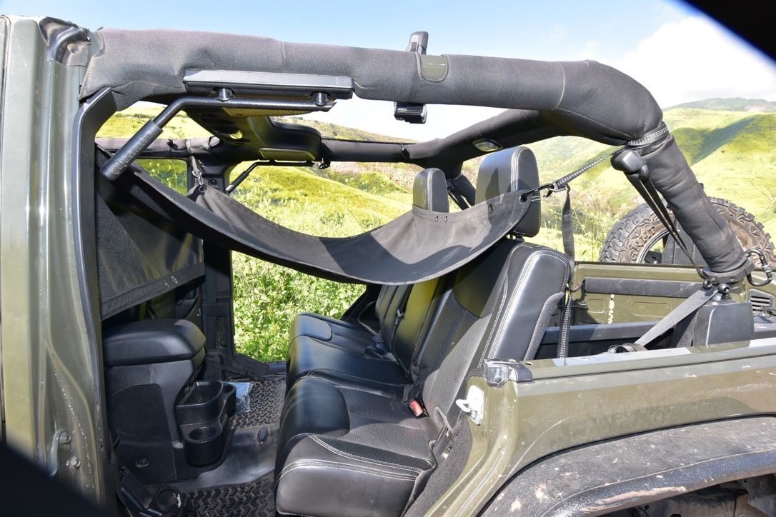 One Jkloud Can Do It All Hammock Sunshade And Cargo Cover