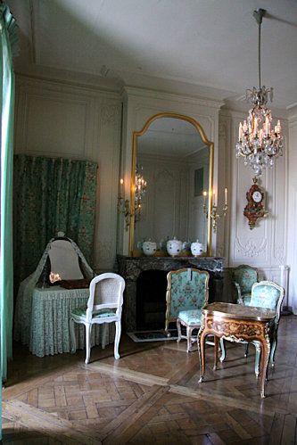 Appartements de Madame de Pompadour  Chambre à coucher Madame de