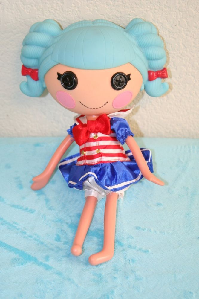 Mga Entertainment 2010 Full Size 13 Dressed Lalaloopsy Doll With Blue Hair Dollswithclothingaccessories