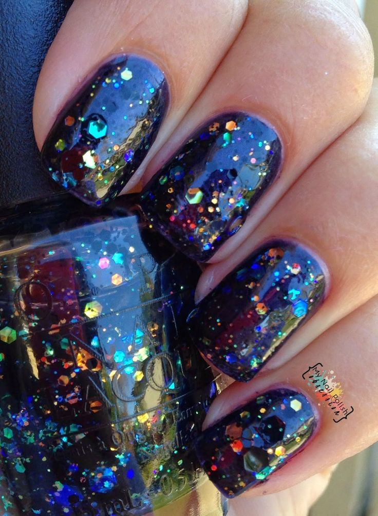 My nail polish obsession opi comet in the sky pretty