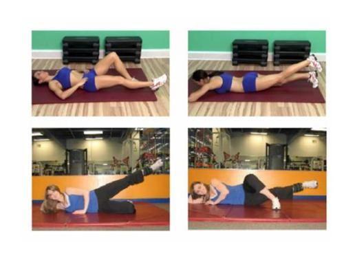 Knee injury exercises