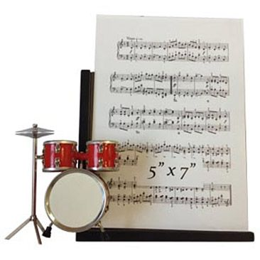 Drumset Picture Frame Drummer Gifts Music Gifts Drums