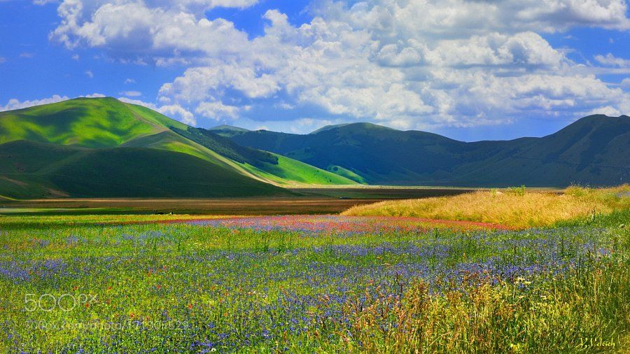 #landscape #Photography : Castelluccio di Norcia by YorisVelcich https://t.co/QURXTMhTON #followme #photography