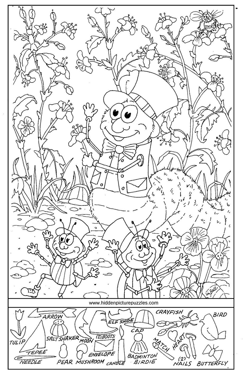 Worksheets Hidden Picture Worksheets hidden pictures page print your free at allkidsnetwork com