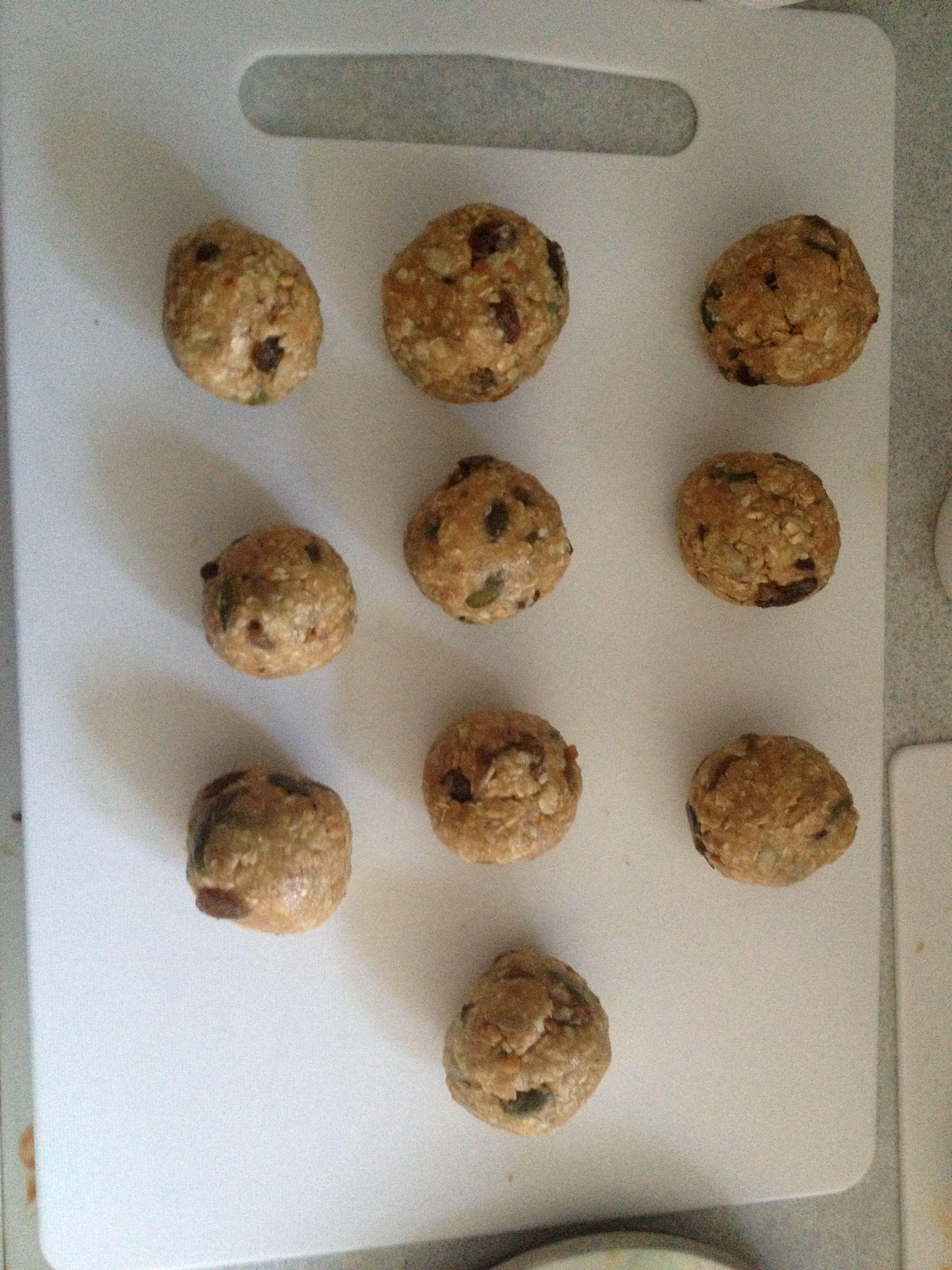 My no bake balls