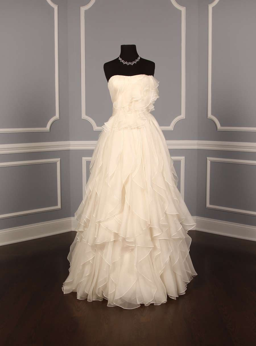 Marchesa Charlotte B40806 Discount Designer Wedding Dress ...